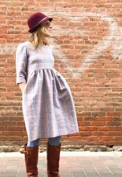 Hinterland dress by Sew Liberated