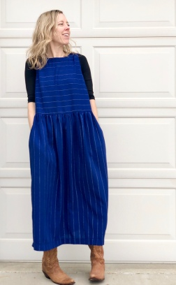 Felicia Pinafore Dress by Tessuti Fabrics