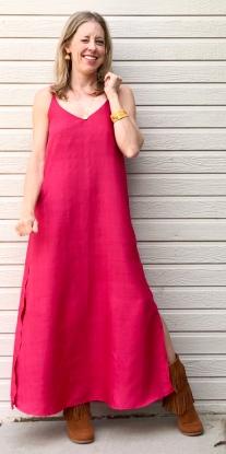 Ogden Cami by Tru Bias modified to a dress